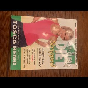 Eat Clean Diet Stripped by Tosca Reno Hardcover